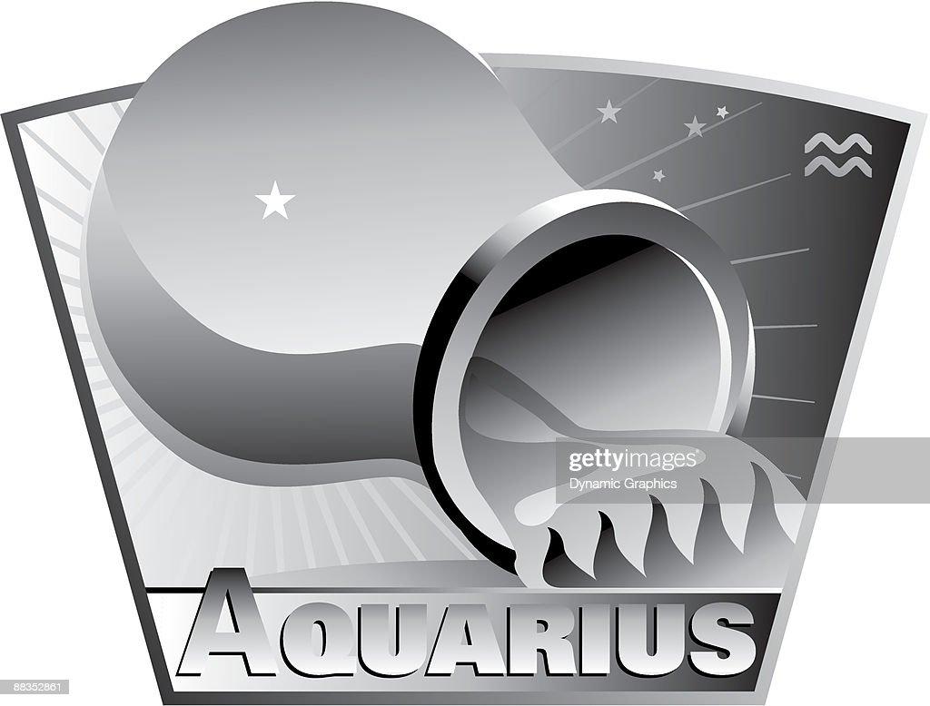 Zodiac sign aquarius the water bearer grayscale grouped elements zodiac sign aquarius the water bearer grayscale grouped elements biocorpaavc Choice Image