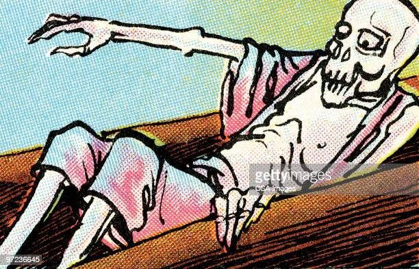 zombie - death stock illustrations