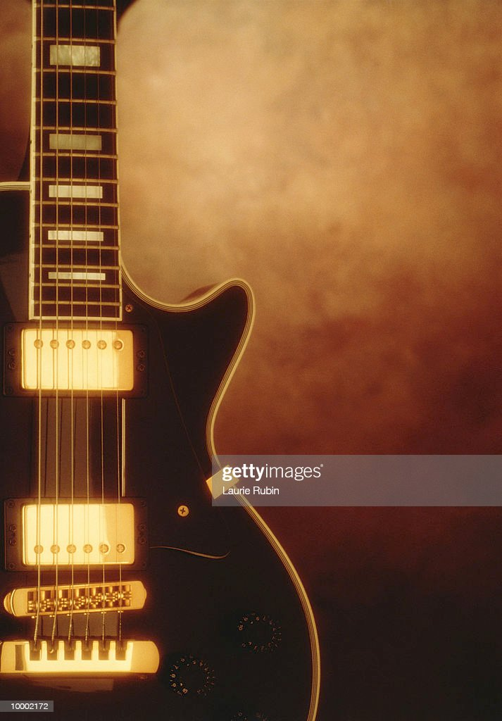 GUITAR IN DETAIL : Stock Photo
