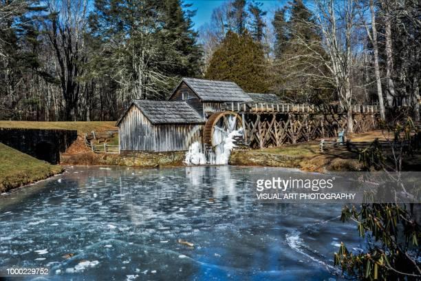 maybry mill - mulino ad acqua foto e immagini stock