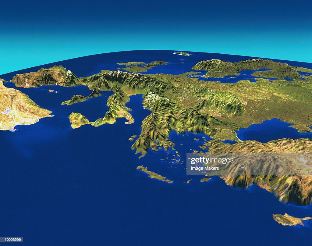 SATELLITE OF EUROPE : Photo