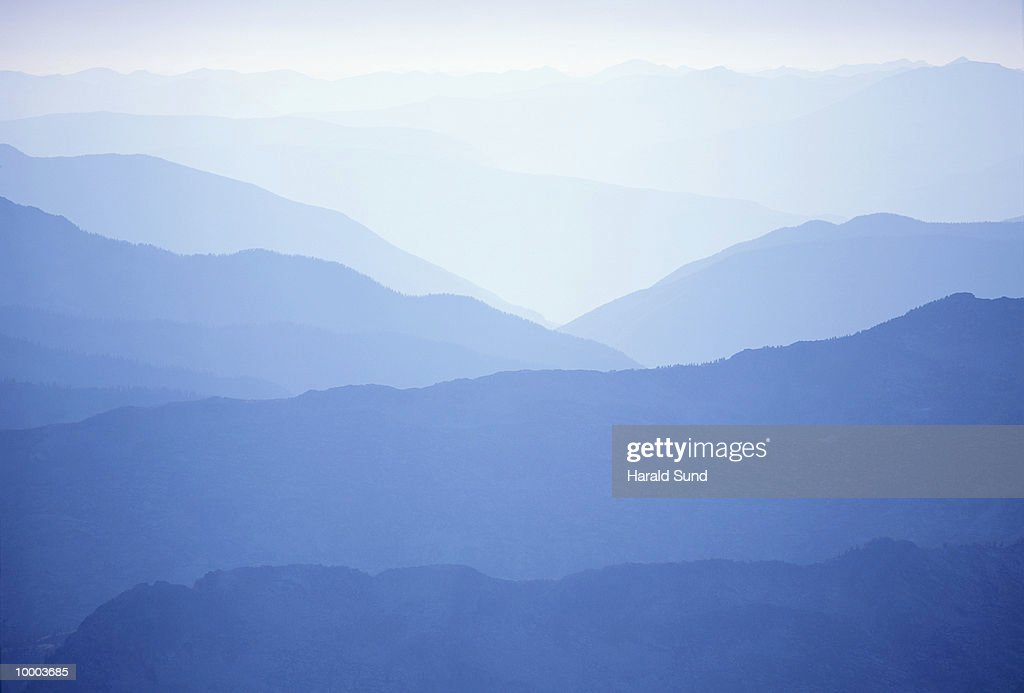 MOUNTAINS IN KOKANEE GLACIER PROV. PARK IN BRITISH COLUMBIA IN CANADA : Stock Photo