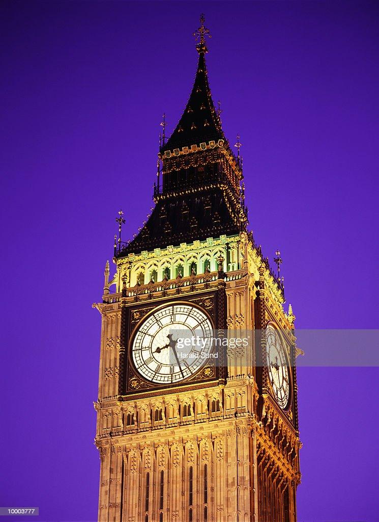 BIG BEN IN LONDON : Bildbanksbilder