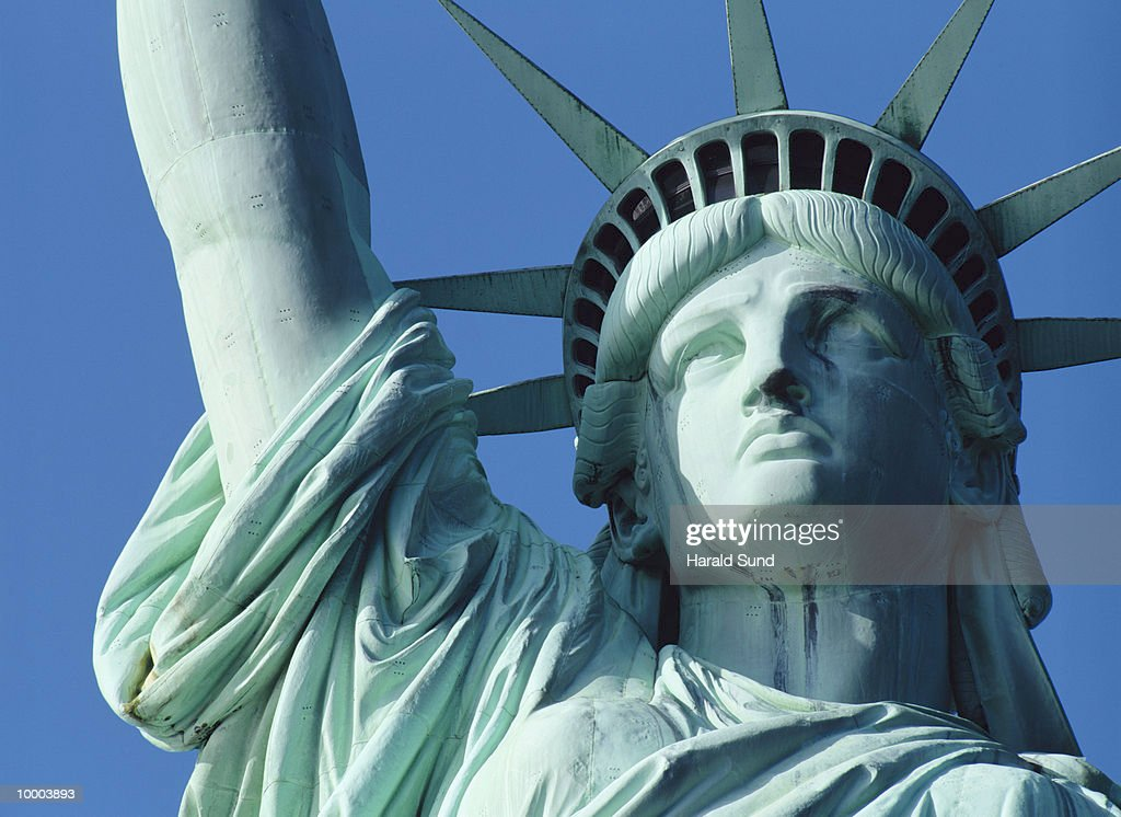 STATUE OF LIBERTY IN NEW YORK : Stock-Foto