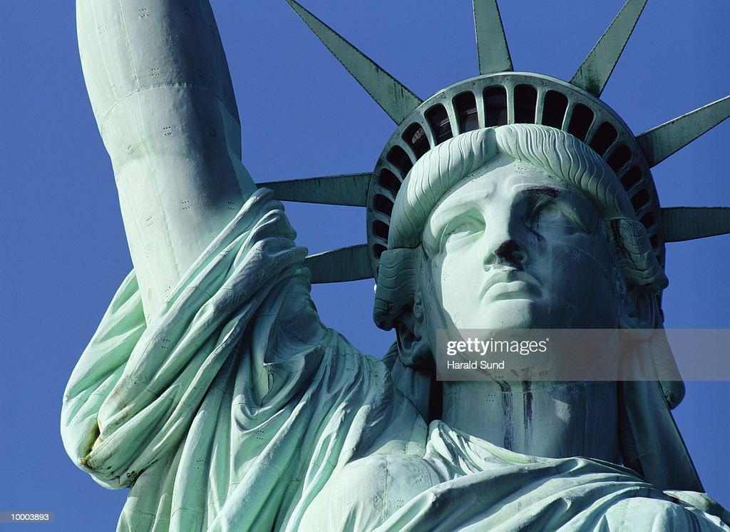 STATUE OF LIBERTY IN NEW YORK : Stockfoto