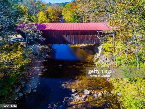 nh-#45-sandwich-durgin bridge - brook mitchell foto e immagini stock