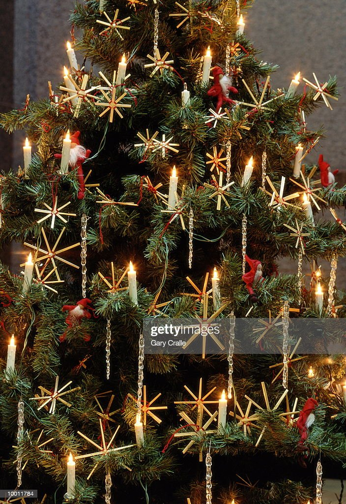 Christmas Tree In Finland In Detail High Res Stock Photo Getty Images