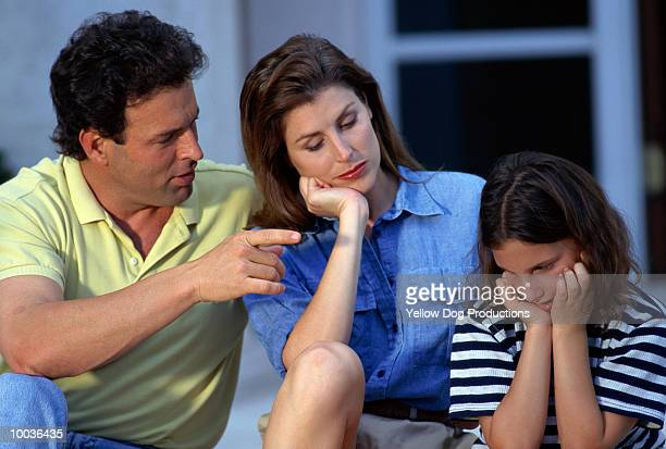 PARENTS SCOLDING DAUGHTER
