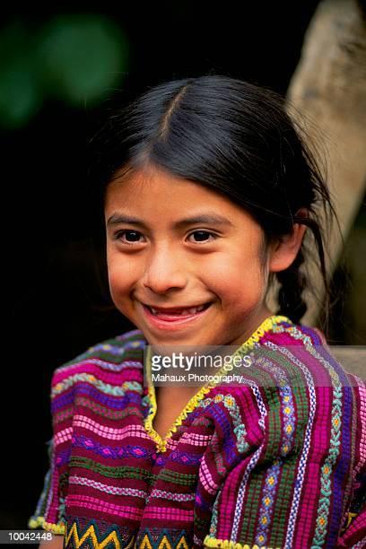 child at indians kakchiquels in guatemala - cultura indígena fotografías e imágenes de stock