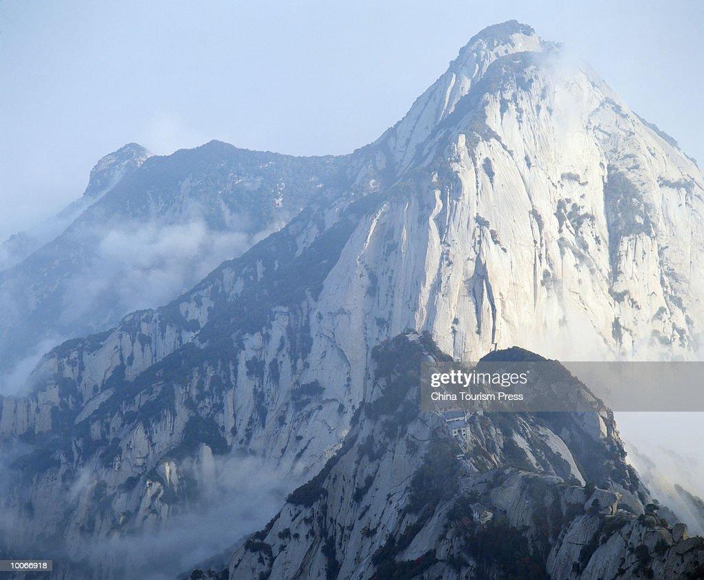 MOUNT HUASHAN, SHAANXI PROVINCE, PEOPLES REPUBLIC OF CHINA : Stock-Foto