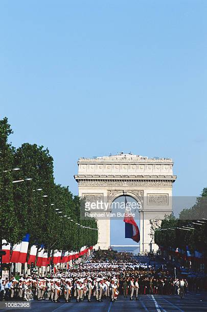JULY 14TH PARADE IN CHAMPS ELYSEES, PARIS