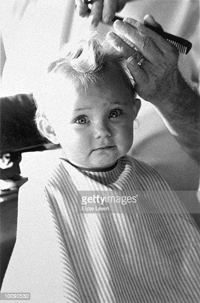 BABYS FIRST HAIR CUT