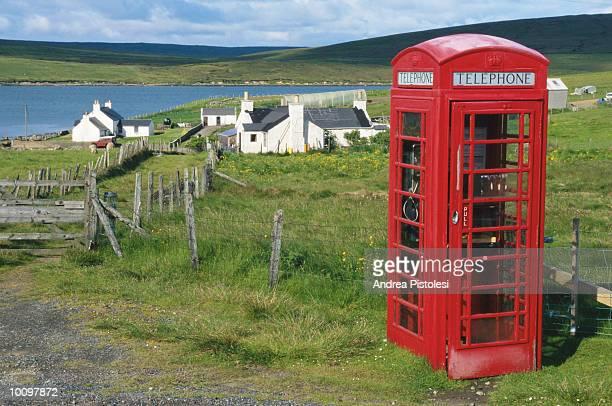 yell island, shetland islands in scotland - isole shetland foto e immagini stock