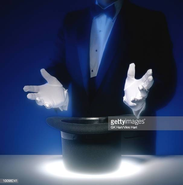 MAGICIAN HAT AND HANDS WITHOUT RABBIT, NUMBER 1 OF 2