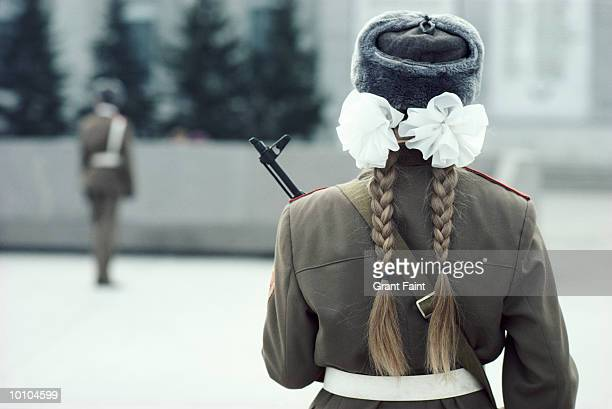 honor guards, siberia, russia - former soviet union stock pictures, royalty-free photos & images