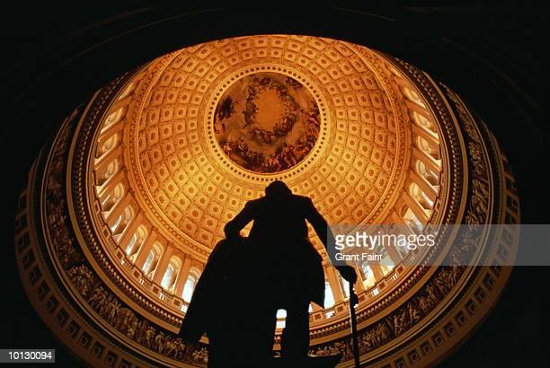 capitol rotunda, usa, washington, dc - rotunda stock pictures, royalty-free photos & images