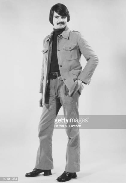 TRENDY MAN IN LEISURE SUIT, 1976
