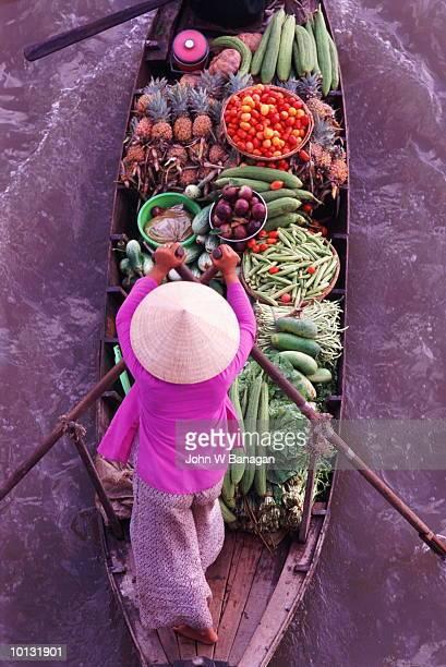 FLOATING MARKETS, MEKONG DELTA, VIETNAM