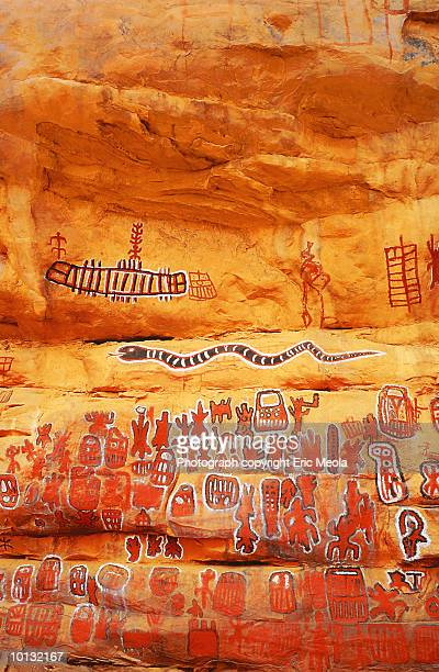 ancient cave, mali, west africa - tribal art stock pictures, royalty-free photos & images