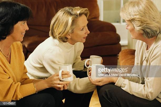 THREE WOMEN TALKING