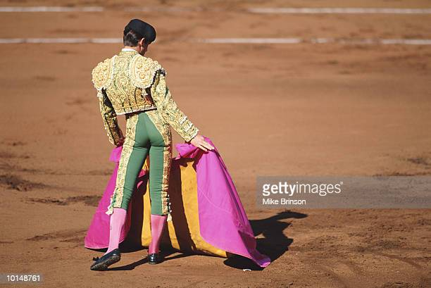 MATADOR IN BULLFIGHT SPAIN