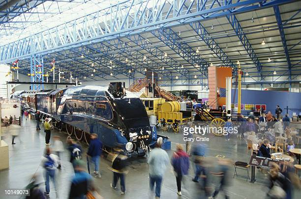 national railway museum, york, england - york stock photos and pictures