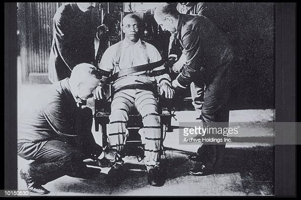 MAN ABOUT TO BE EXECUTED IN 1920S