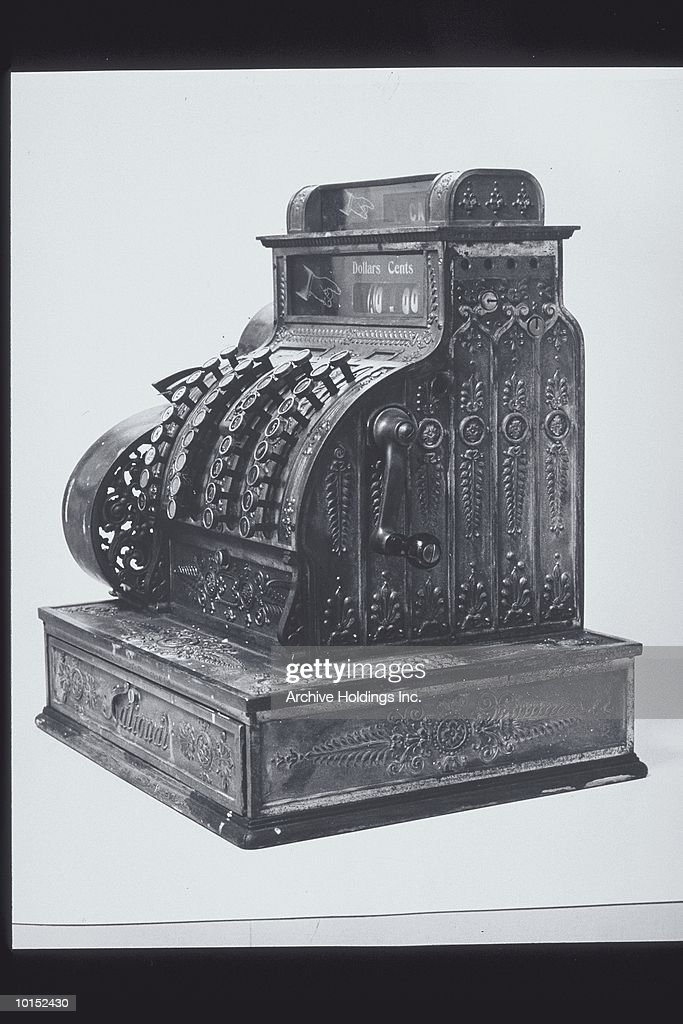 STILL LIFE OF CASH REGISTER : Stockfoto