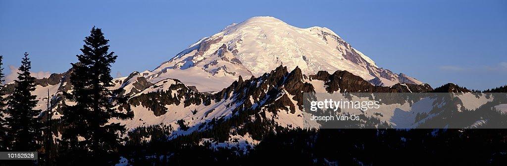 MOUNT RANIER, MOUNT RANIER NATIONAL PARK, WASHINGTON : Stockfoto