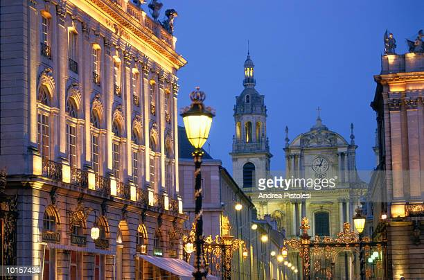 stanislas square, nancy, france - nancy stock pictures, royalty-free photos & images