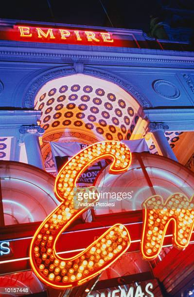 london nights, uk, leicester square - greater london stock pictures, royalty-free photos & images