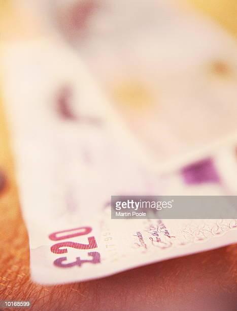 english twenty pound note - twenty pound note ストックフォトと画像