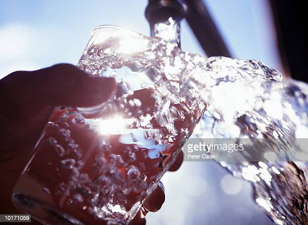 FILLING GLASS WITH WATER