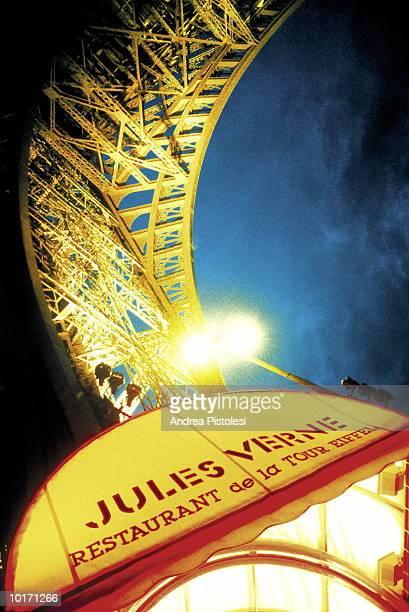 JULES VERNE RESTAURANT, PARIS, FRANCE