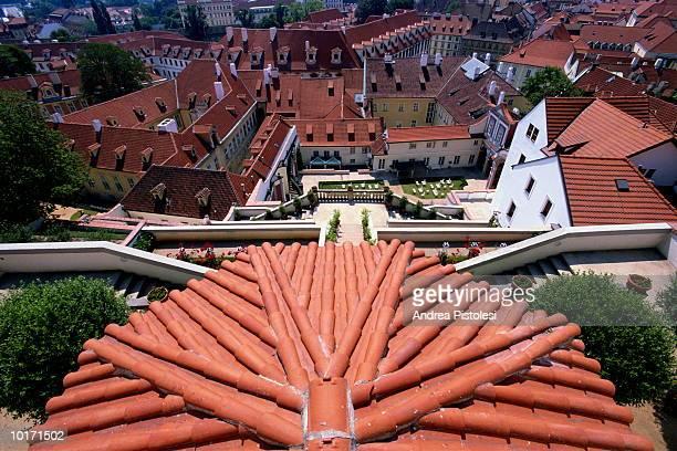 HRADCANY CASTLE GARDENS, PRAGUE