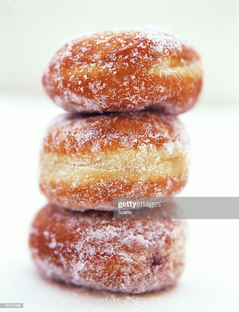 DONUTS BALANCING : Stock Photo