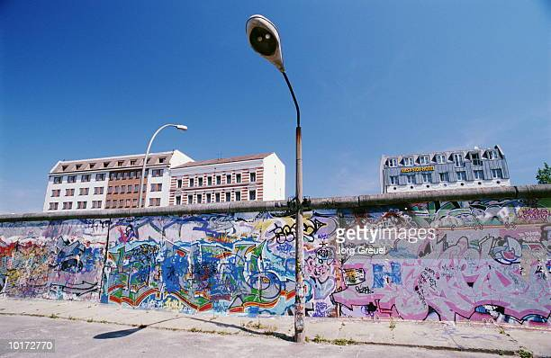 berlin wall, berlin, germany - berlin stock pictures, royalty-free photos & images