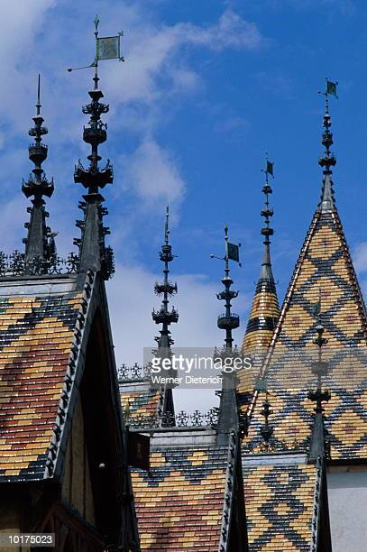 ROOF OF HOTEL, BEAUNE, FRANCE