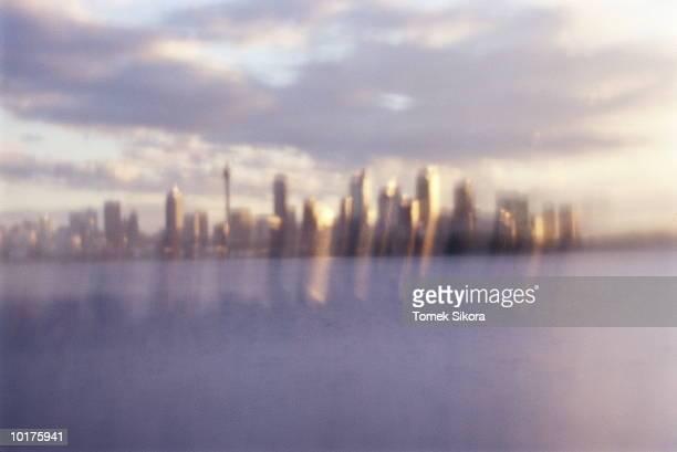 harbor and city view, sydney, australia - sydney ストックフォトと画像