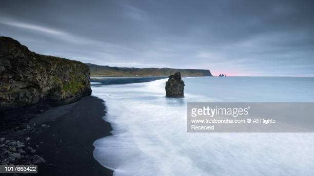 BLACK SAND BEACH OF VIK, ICELAND