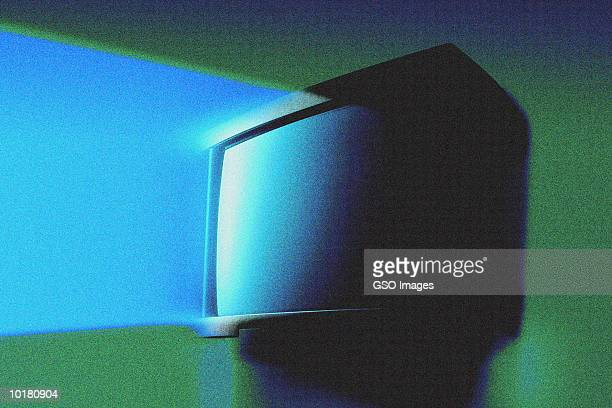 LIGHT COMING FROM TV