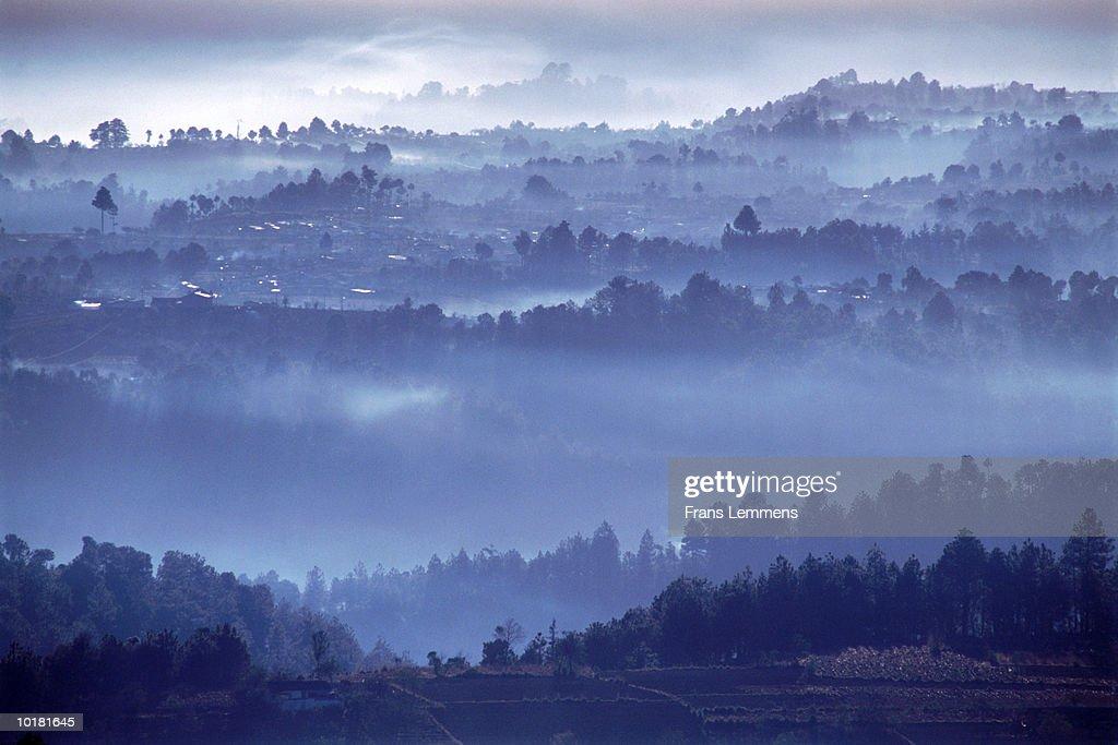 VIEW OF COUNTRYSIDE, GUATEMALA : Stock Photo