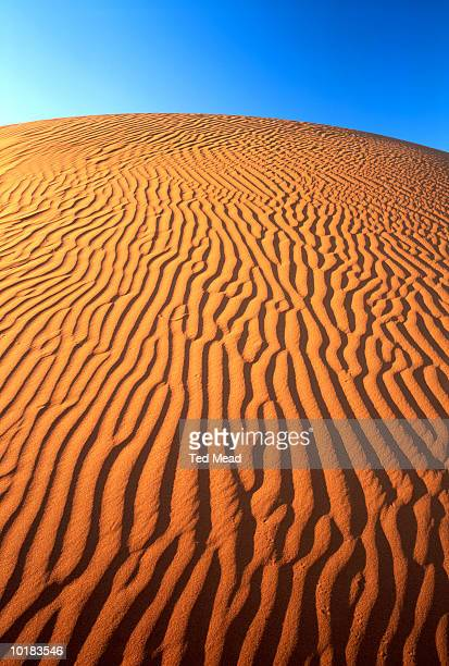 SAND DUNE PATTERNS, SIMPSON DESERT