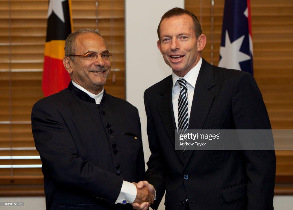 Australian Liberal Party Leader Tony Abbott