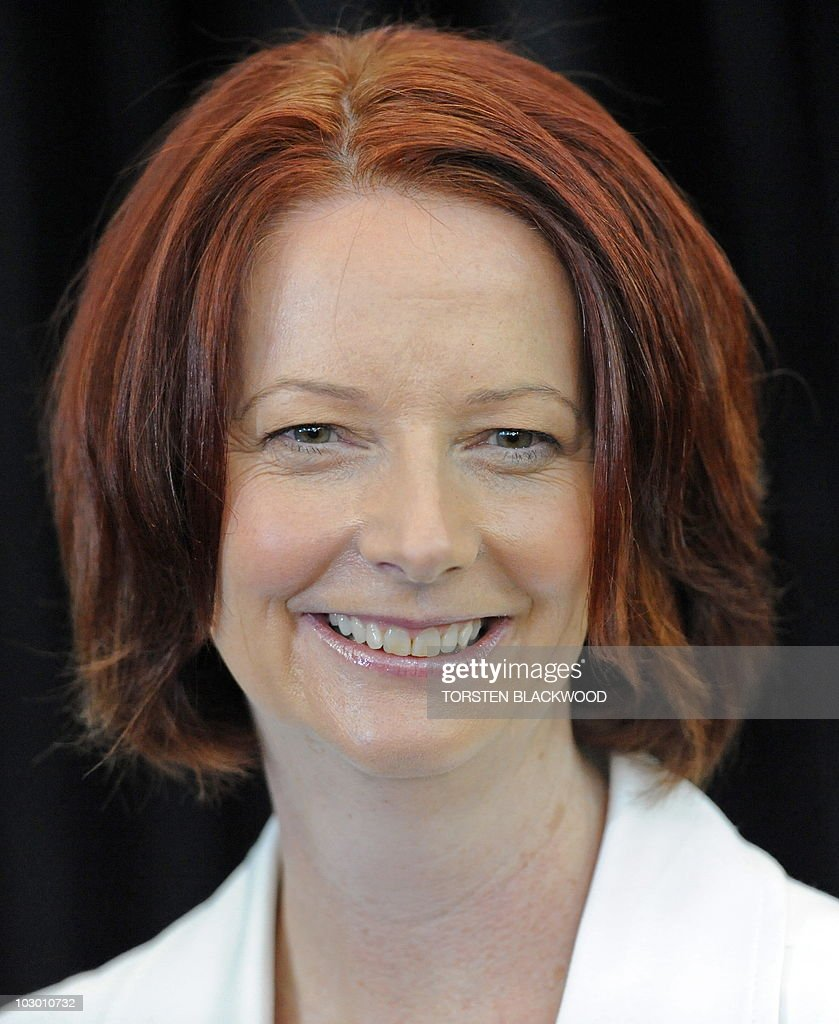 Australian Labor Party Leader Julia Gillard