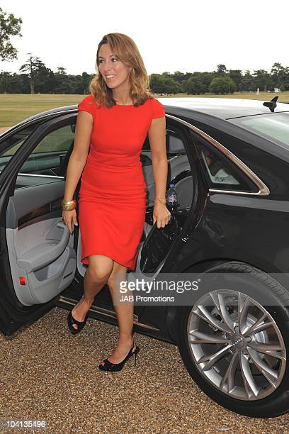 Emma Crosby attends Audi Lunch at Goodwood House on Ladies Day at the Glorious Goodwood Festival at Goodwood on July 29, 2010 in Chichester, England.