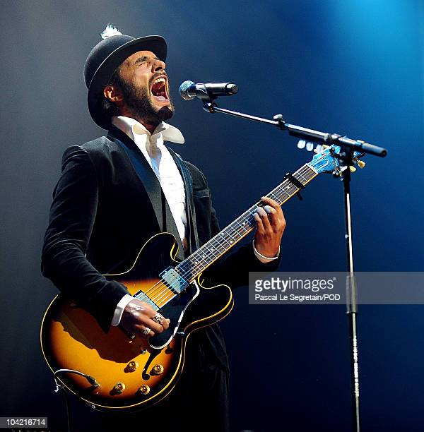 Maxim Nucci of Yodelice performs on stage during the Peace One Day Celebration 2010 at Le Zenith on September 17 2010 in Paris France