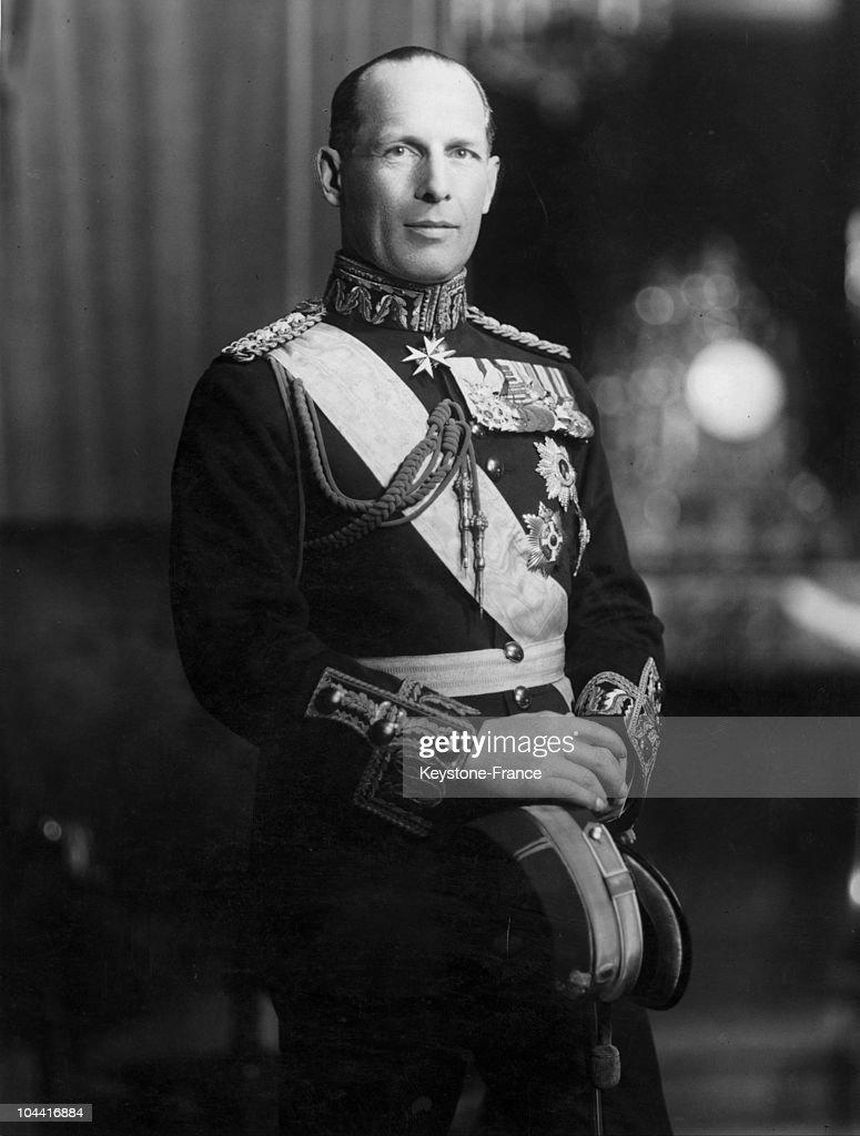 King George Ii Of Greece : News Photo