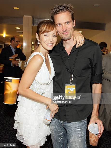 "Autumn Reeser and Jesse Warren at the premiere of ""The American Mall"" at the Cinerama Dome in Hollywood, CA on July 28, 2008. ""The American Mall""..."