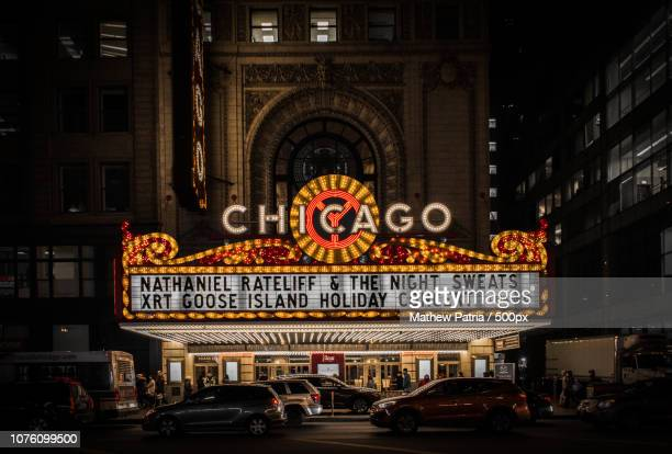 dlr - chicago theater stock pictures, royalty-free photos & images